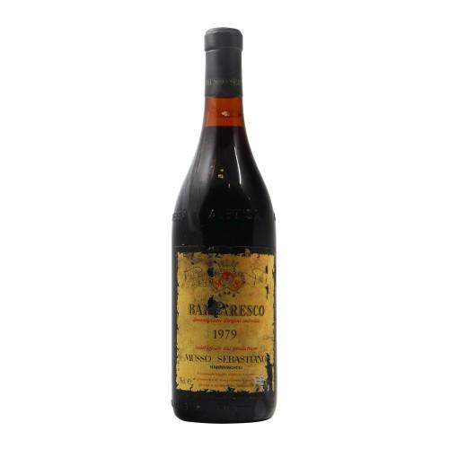BARBARESCO 1979 MUSSO Grandi Bottiglie