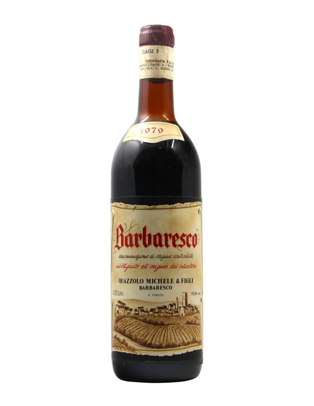 BARBARESCO 1979 MICHELE QUAZZOLO Grandi Bottiglie