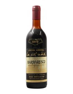 BARBARESCO 1979 LA CA NOVA Grandi Bottiglie