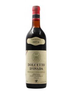 DOLCETTO D'OVADA 1979 CANTINA SOCIALE CALAMANDRANA Grandi Bottiglie