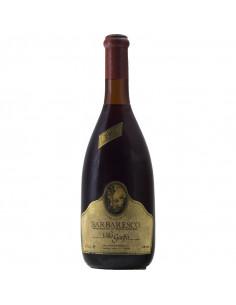 BARBARESCO 1980 VILLA GUELFA Grandi Bottiglie