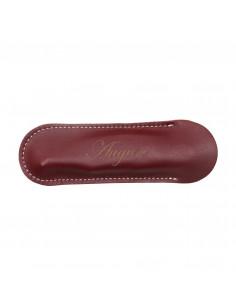 Personalized Corkscrew Leather Case - Blues