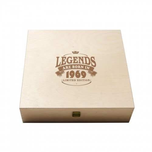 PERSONALIZED WOODEN WINE BOXES - 4 BOTTLES - ILVA4