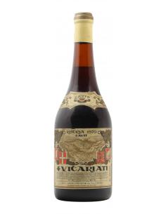 4 VICARIATI RISERVA 1970 CAVIT Grandi Bottiglie
