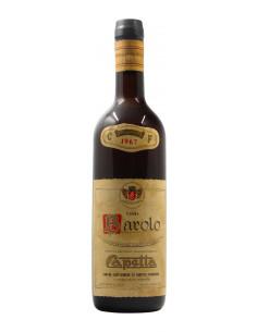 BAROLO 1967 CAPETTA Grandi Bottiglie