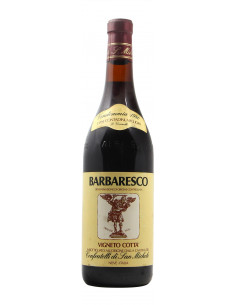 BARBARESCO VIGNETO COTTA' 1980 CONFRATELLI DI SAN MICHELE Grandi Bottiglie