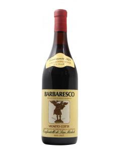 BARBARESCO VIGNETO COTTA' 1975 CONFRATELLI DI SAN MICHELE Grandi Bottiglie