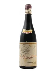 BAROLO RISERVA 1961 FONTANA SAVERIO Grandi Bottiglie