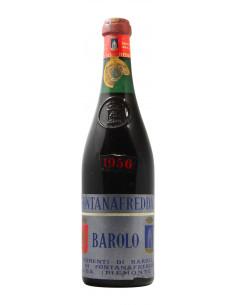 Barolo Clear Colour 1956 FONTANAFREDDA GRANDI BOTTIGLIE