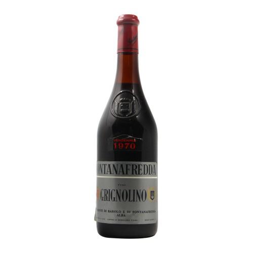 GRIGNOLINO 1970 FONTANAFREDDA Grandi Bottiglie