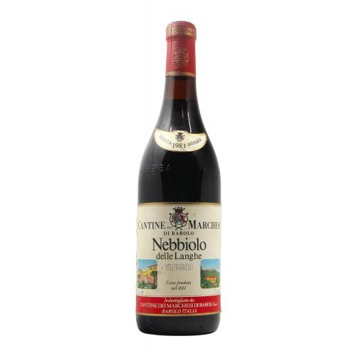 NEBBIOLO DELLE LANGHE 1983 MARCHESI DI BAROLO Grandi Bottiglie