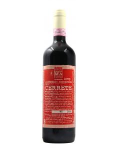 vino naturale SAGRANTINO DI MONTEFALCO VIGNA CERRETE (2009)