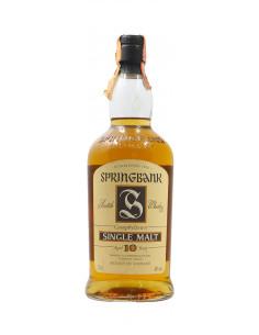 WHISKY CAMPBELTOWN SINGLE MALT 10 YERS OLD NV SPRINGBANK Grandi Bottiglie