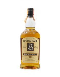 Springbank WHISKY CAMPBELTOWN SINGLE MALT 10 YERS OLD (NV)