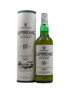 LAPHROAIG SCOTCH WHISKY  10 YEARS OLD CL 70 (NV)
