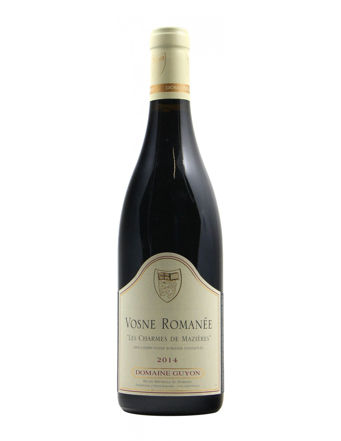 VOSNE ROMANEE CHARMES DE MAZIERES 2014 GUYON Grandi Bottiglie