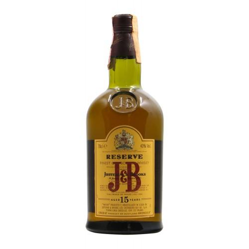 J&B WHISKY 15Y0 70CL NV