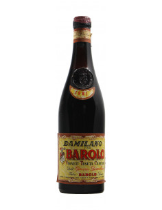 Damilano BAROLO TENUTA CANUBIO (1961) Grandibottiglie.com