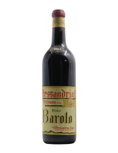 BAROLO 1964 ALESSANDRIA GIUSEPPE Grandi Bottiglie