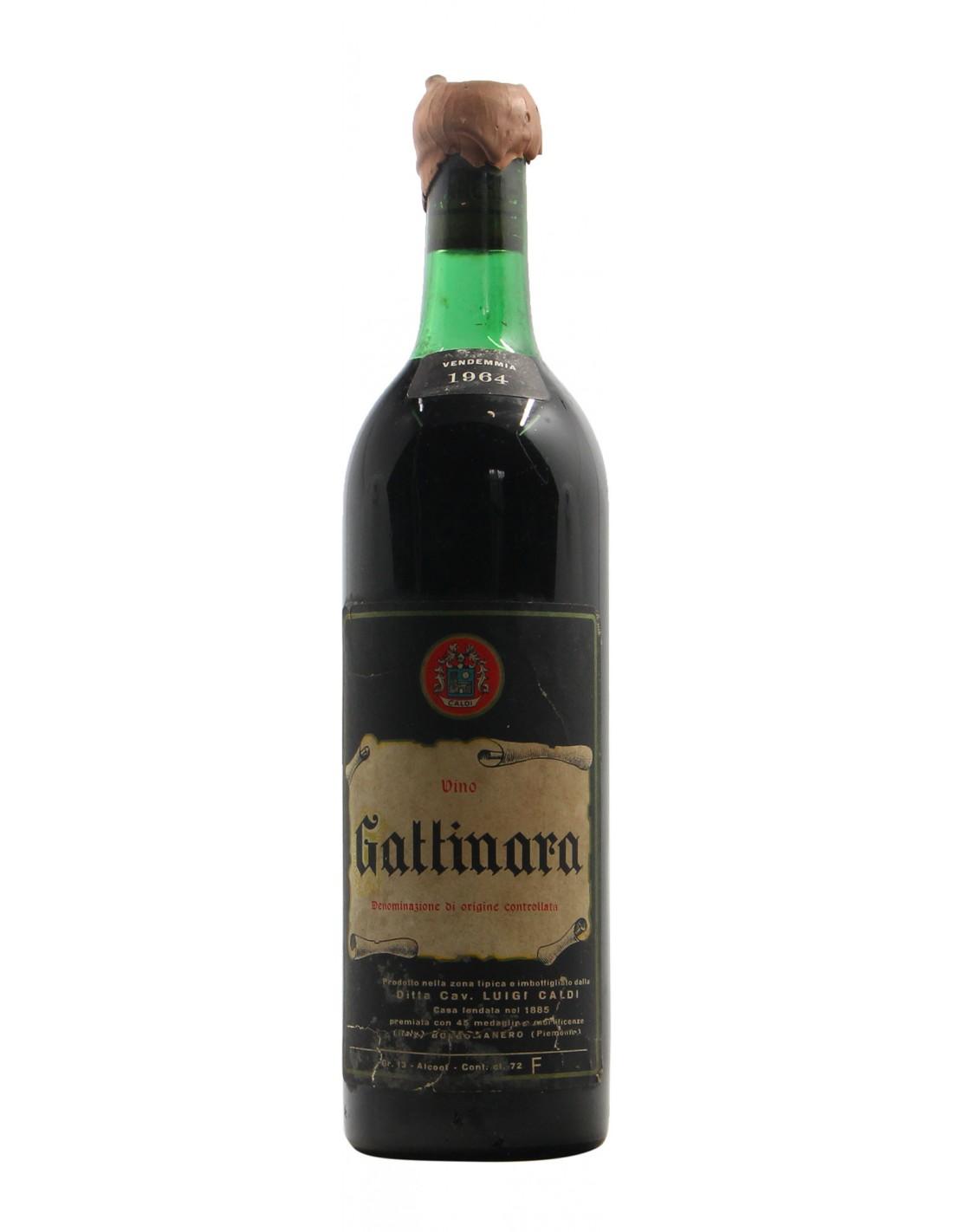 Gattinara 1964 CALDI GRANDI BOTTIGLIE