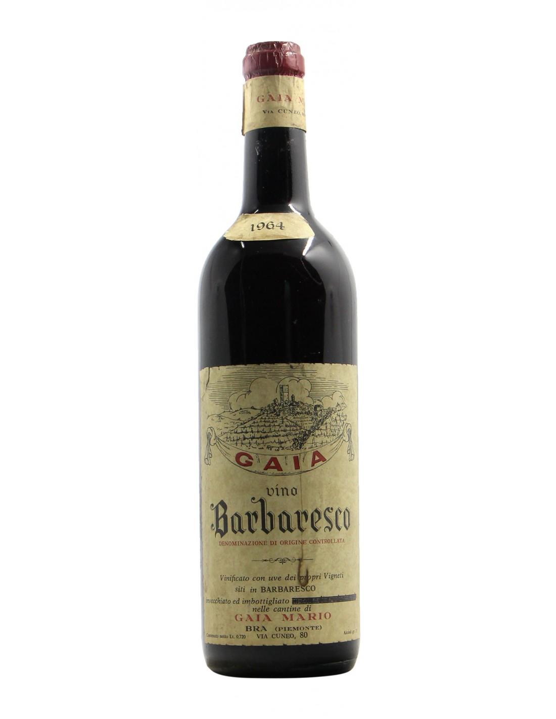 BARBARESCO 1964 GAIA MARIO Grandi Bottiglie