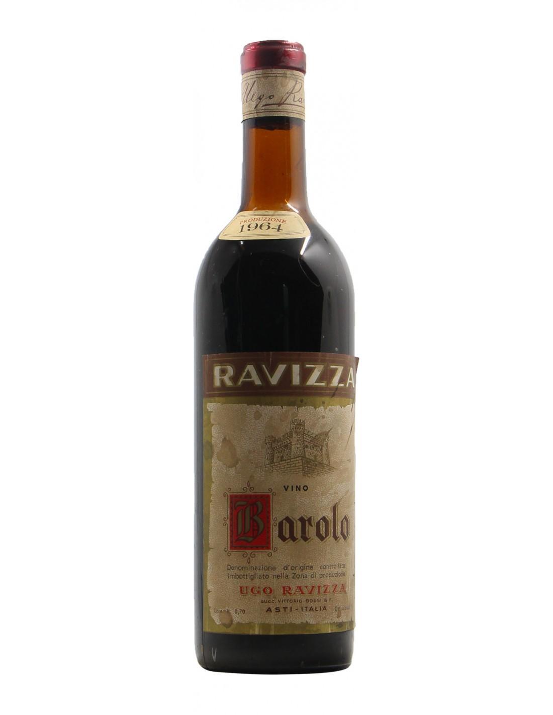 Barolo 1964 RAVIZZA GRANDI BOTTIGLIE