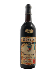 BARBARESCO RISERVA SPECIALE 1964 RIVETTO ERCOLE Grandi Bottiglie