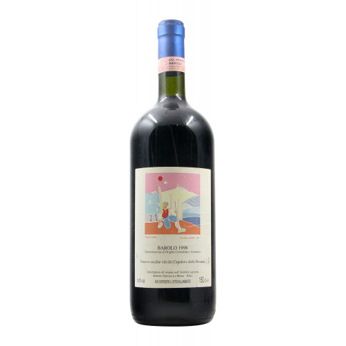 Barolo Riserva Vecchie Viti Capalot E Brunate Magnum 1998