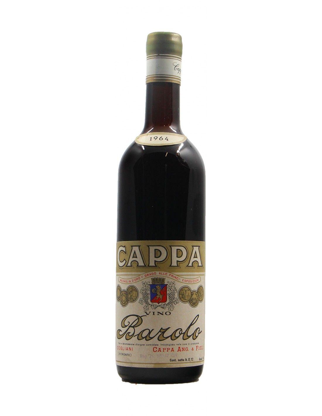 BAROLO 1964 CAPPA PIETRO Grandi Bottiglie