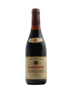 Rabosone 1964 CANTINE DEROA' GRANDI BOTTIGLIE