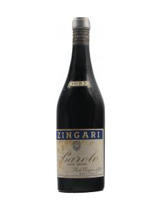 BAROLO EXTRA VECCHIO CLEAR COLOUR 1957 PAOLO ZINGARI Grandi Bottiglie