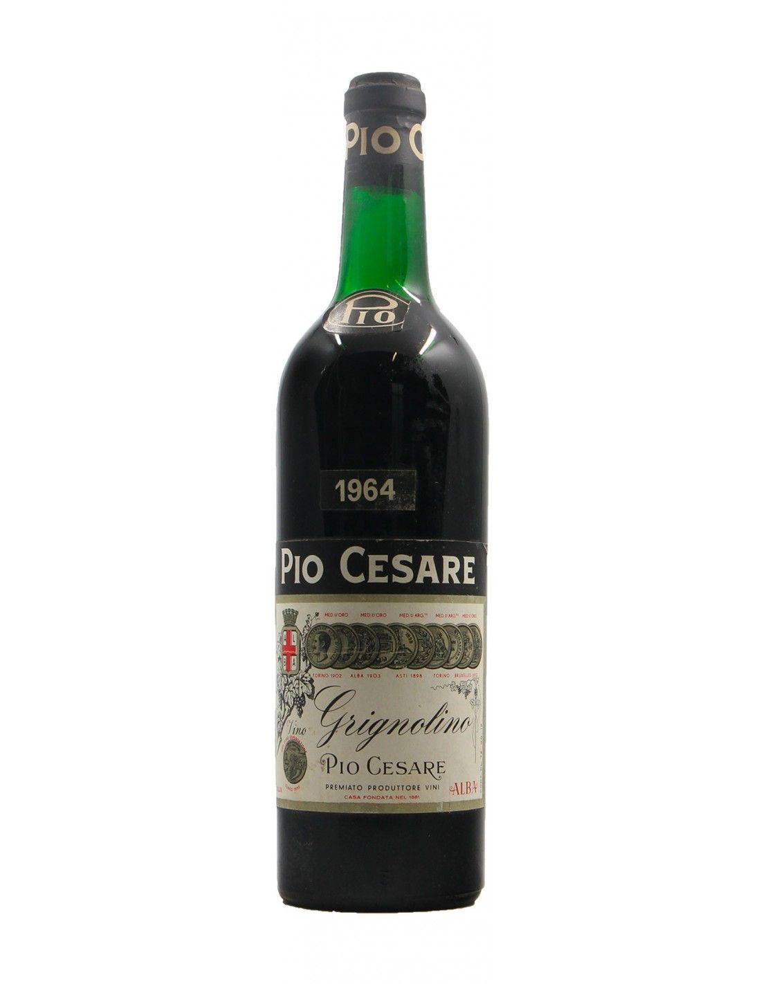 Grignolino 1964 PIO CESARE GRANDI BOTTIGLIE