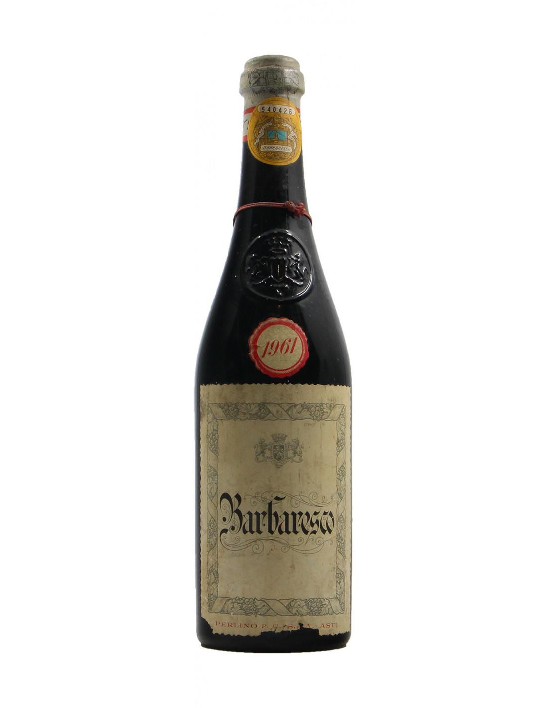 Barbaresco 1961 PERLINO GRANDI BOTTIGLIE