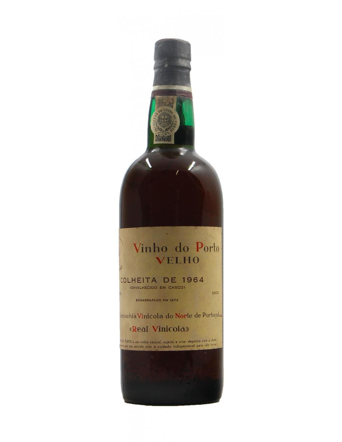 Vinho Do Porto Velho 1964 REAL COMPANHIA VINICOLA GRANDI