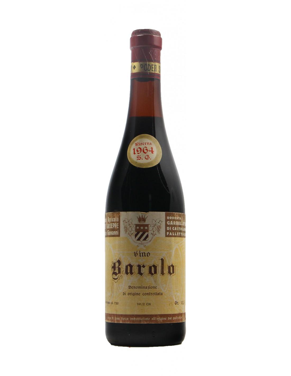 Barolo Riserva 1964 SORDO GIUSEPPE GRANDI BOTTIGLIE