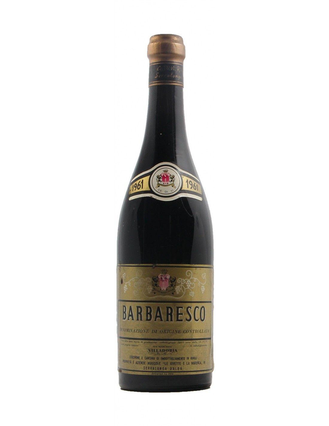 BARBARESCO 1961 VILLADORIA Grandi Bottiglie