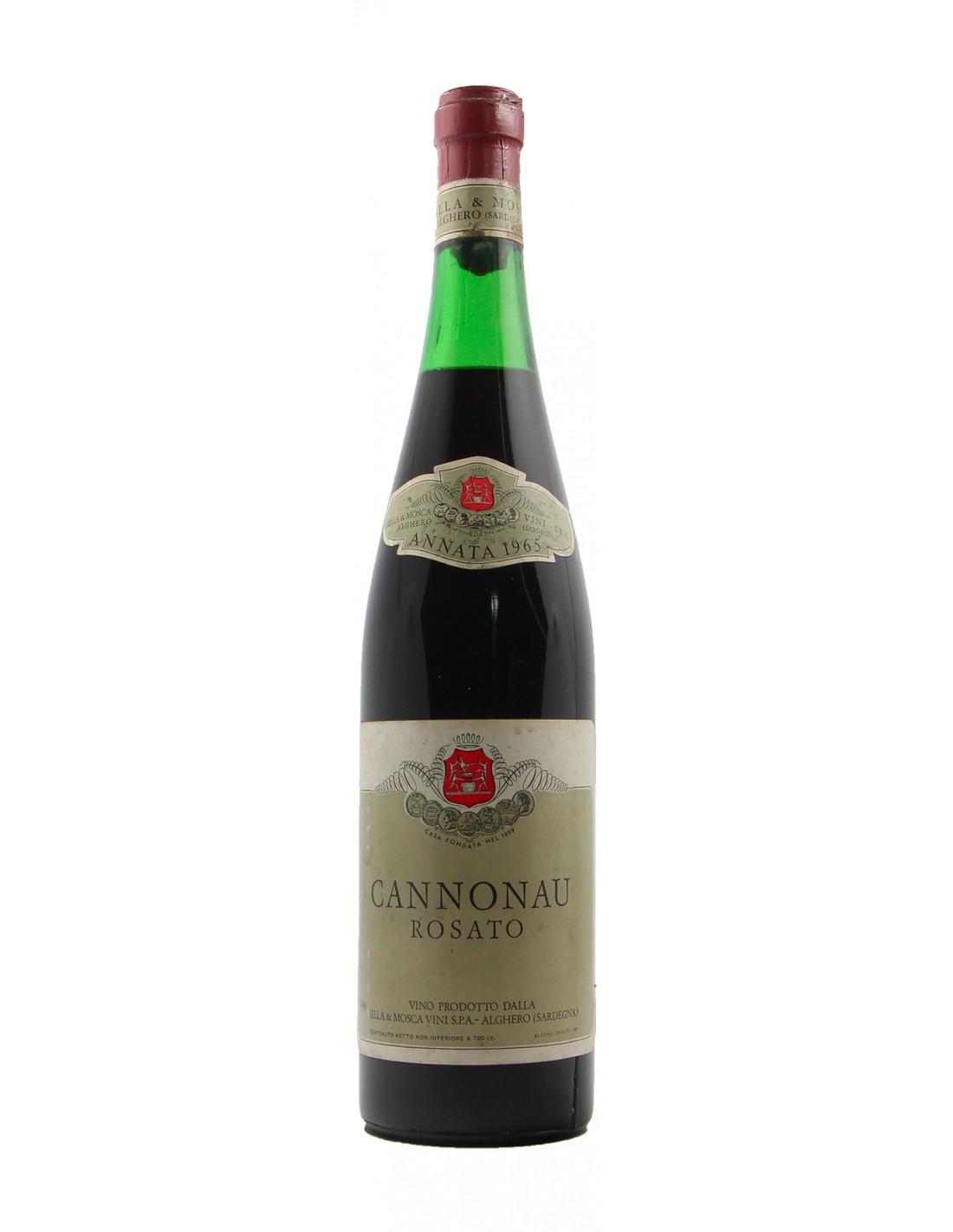 CANNONAU ROSATO 1965 SELLA & MOSCA Grandi Bottiglie