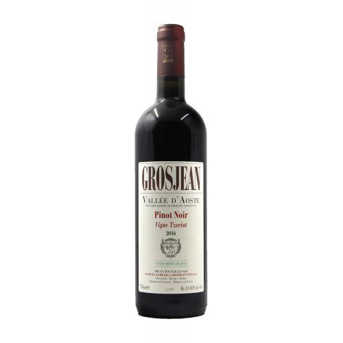 vino naturale Grosjean PINOT NERO VIGNE TZERIAT (2016)