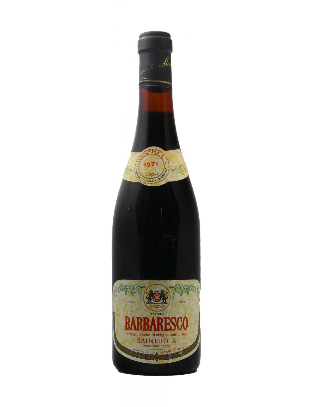 BARBARESCO 1971 RAINERO GRANDI BOTTIGLIE
