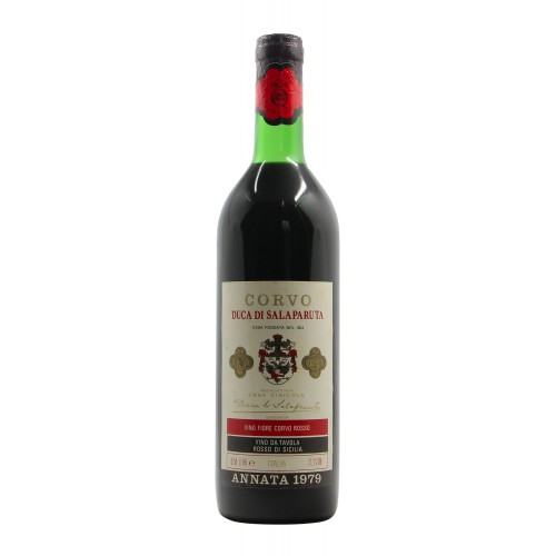 FIORE CORVO ROSSO 1979 DUCA SALAPARUTA Grandi Bottiglie