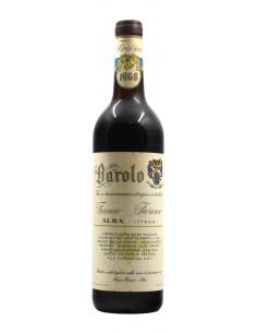 Barolo 1968 FIORINA FRANCO GRANDI BOTTIGLIE