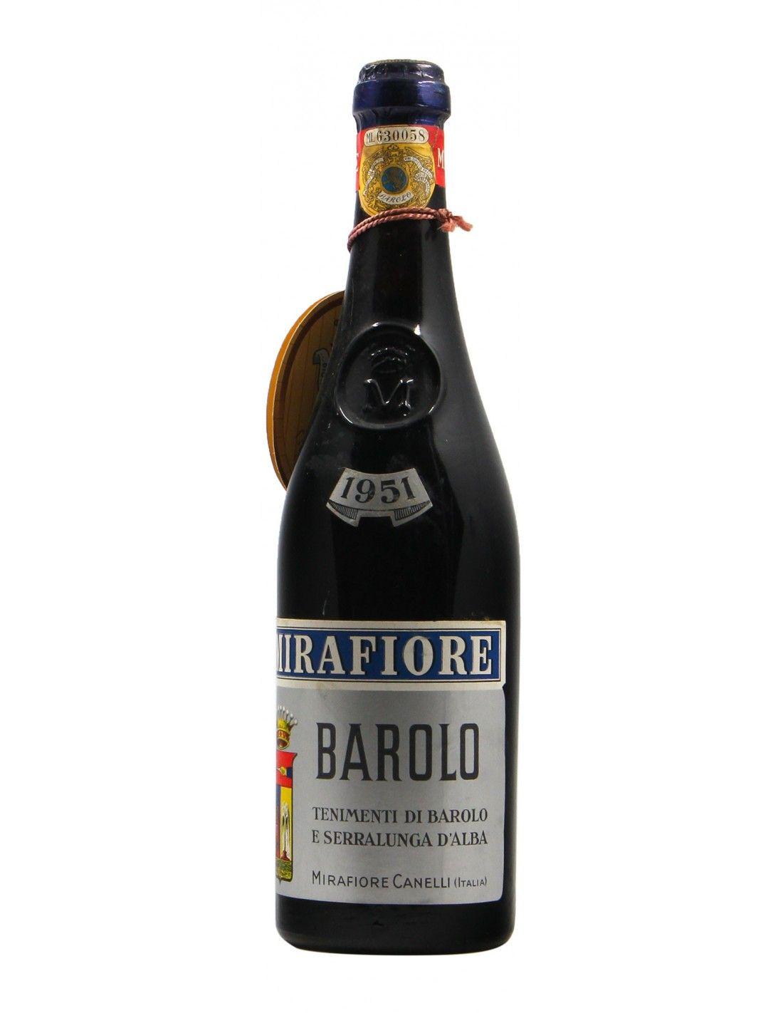 BAROLO 1951 MIRAFIORE Grandi Bottiglie