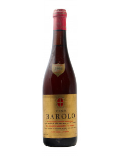 BAROLO BRUNATE CLEAR COLOUR 1966 MARCARINI GRANDI BOTTIGLIE