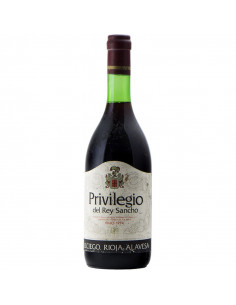 PRIVILEGIO DEL REY SANCHO 1974 ELCIEGO RIOJA ALAVESA Grandi Bottiglie
