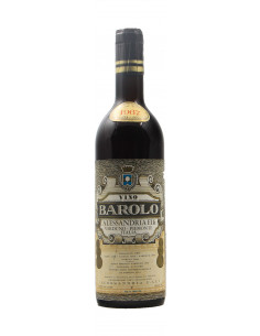 BAROLO 1967 ALESSANDRIA GIUSEPPE Grandi Bottiglie