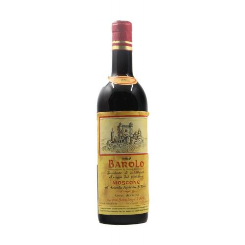 Barolo 1971 MOSCONE GRANDI BOTTIGLIE
