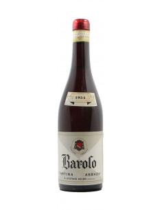 BAROLO 1954 CANTINA ABBAZIA Grandi Bottiglie