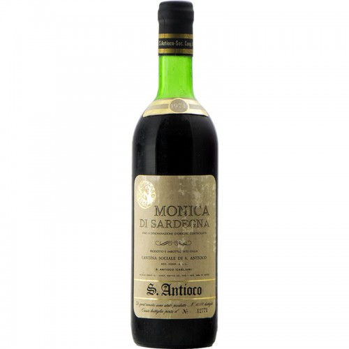 MONICA DI SARDEGNA 1974 CANTINA SAN ANTIOCO Grandi Bottiglie
