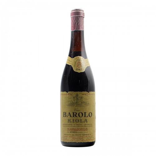BAROLO 1967 KIOLA Grandi Bottiglie