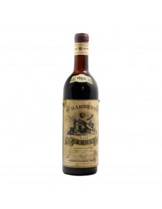 BAROLO 1966 BARBERO Grandi Bottiglie